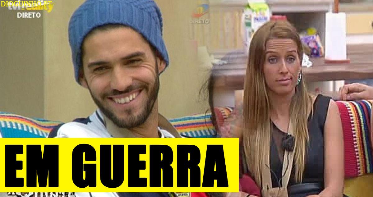 Photo of Cadeira Quente bem animada já com Érica Silva e Quinaz a trocarem bocas!