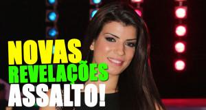 Sofia Sousa foi assaltada. Prejuízo de alguns milhares de euros