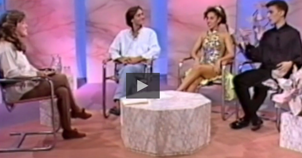 Teresa Guilherme entrevistou Sr Alberto em 1991, era um menino (vídeo)