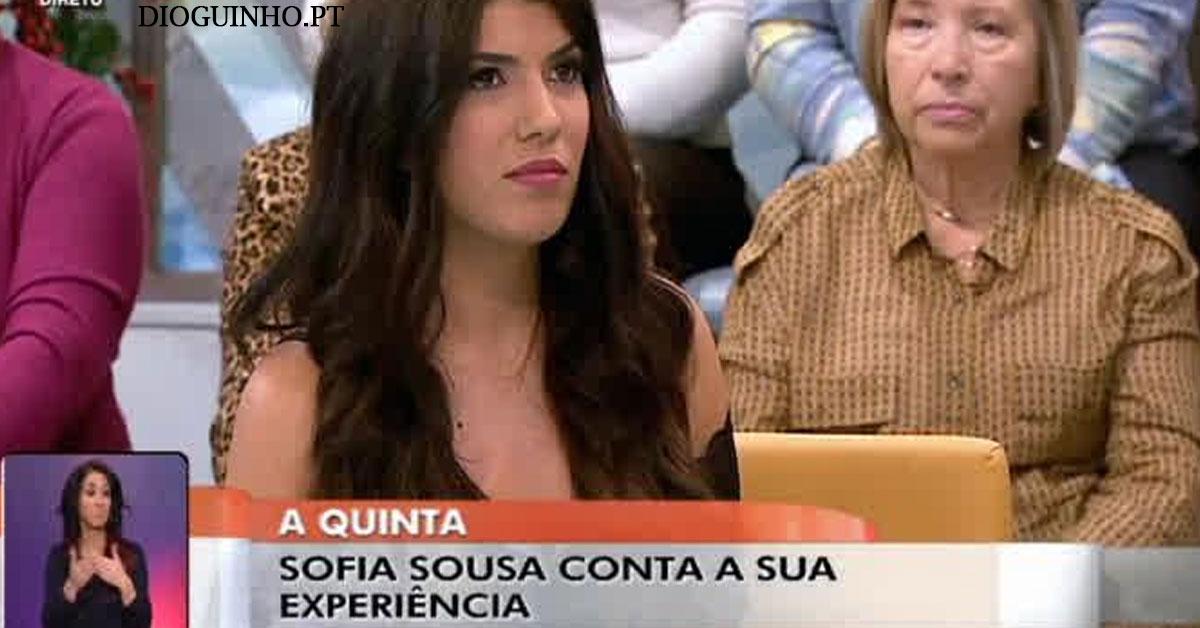 Photo of Sofia Sousa esteve no «Você na TV». Quinaz e Marta? Tudo FALSO