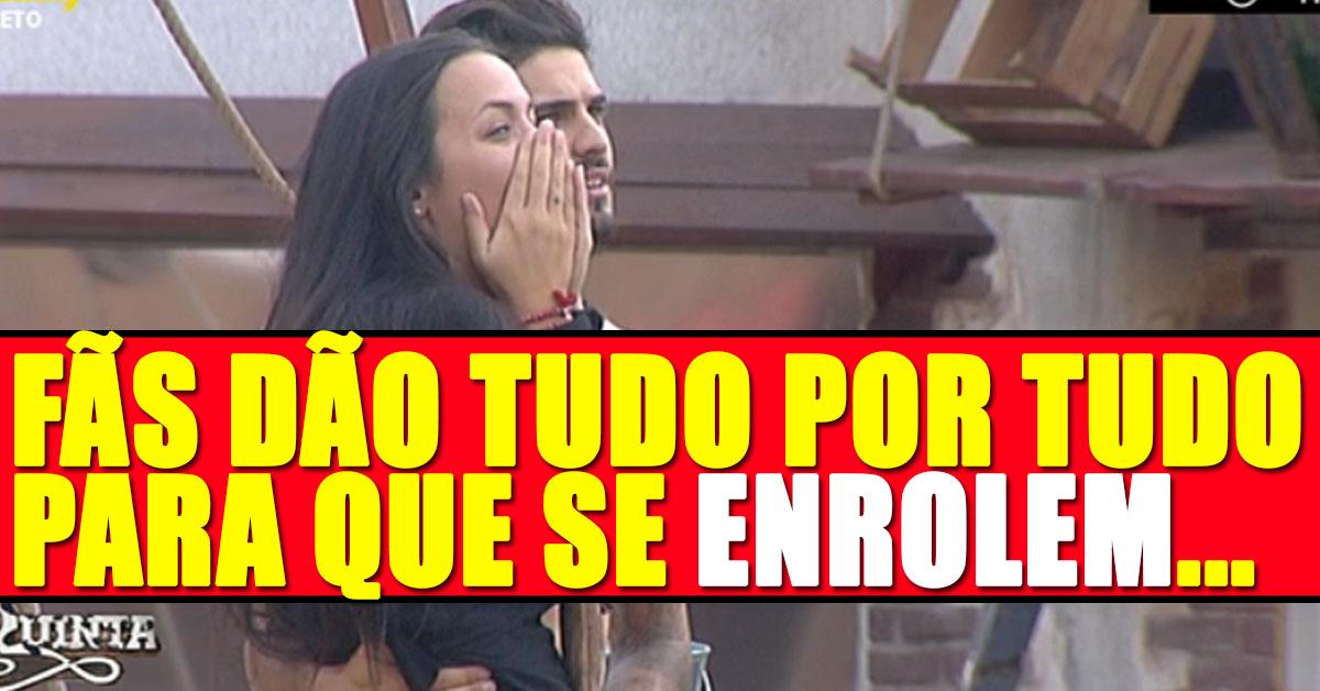 Photo of Fãs da Marta e Quinaz dão tudo por tudo para que se enrolem. Pagam 600 euros por avião