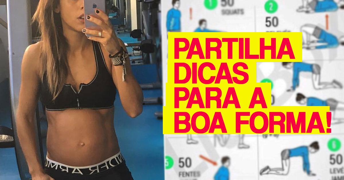 Photo of Carolina Patrocínio partilha dicas para ficares em forma como ela