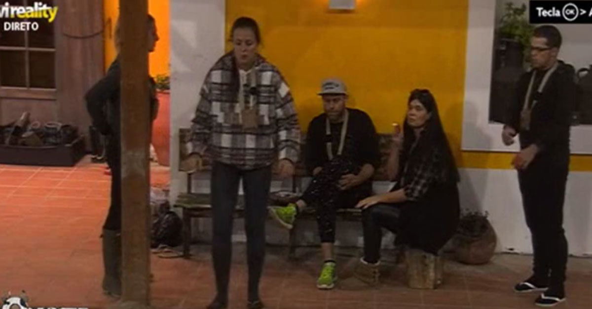 Photo of Foram gritar para 'A Quinta' a queimar o Saul e Kelly