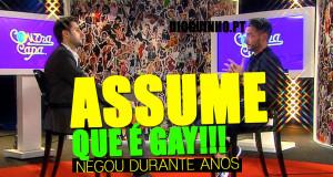 CLÁUDIO RAMOS ASSUME QUE É GAY