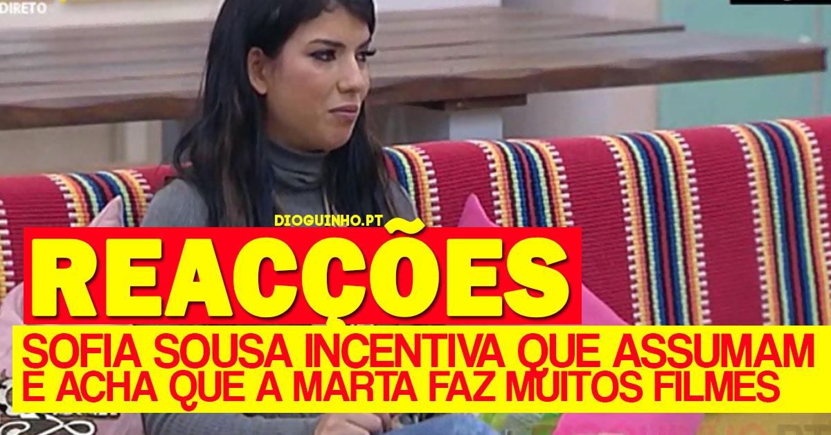 Photo of Reacções ao avião negativo e Sofia Sousa incentiva que assumam