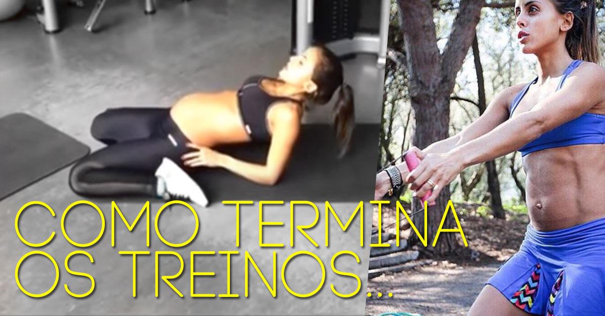 Photo of Carolina Patrocínio partilha mais um vídeo a treinar