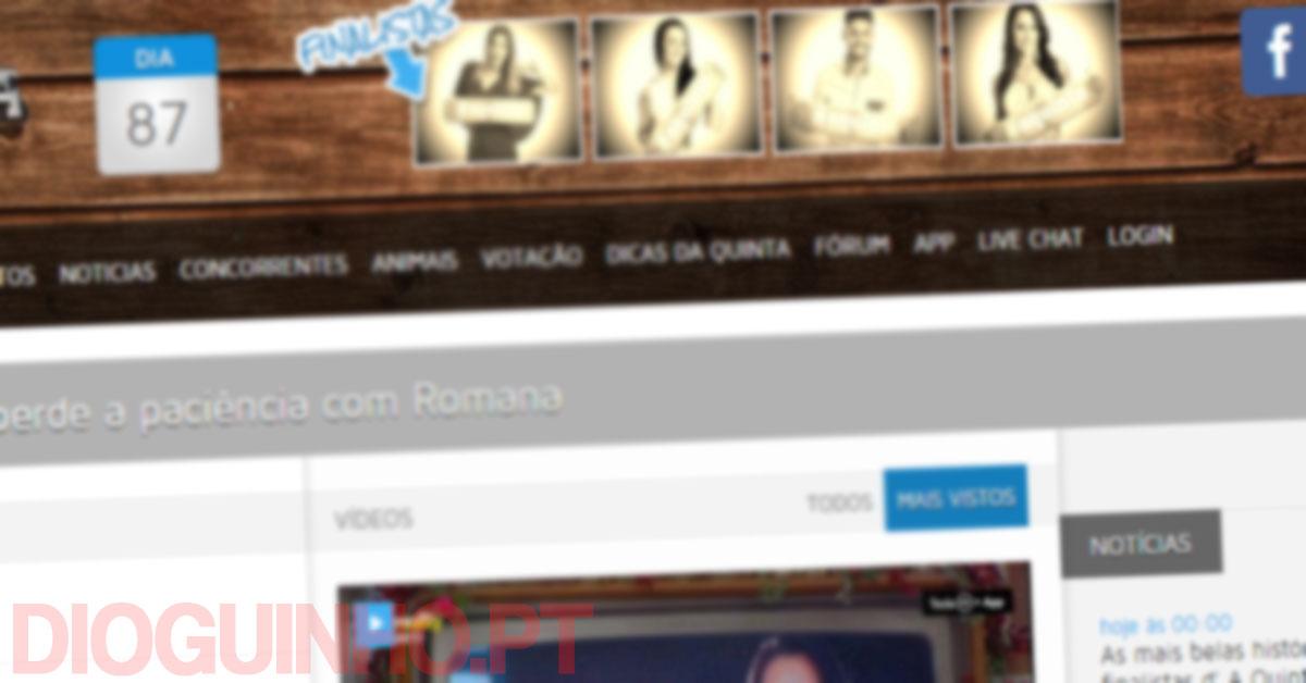 Photo of Votos no site oficial de A Quinta dá para aldrabar? Não!