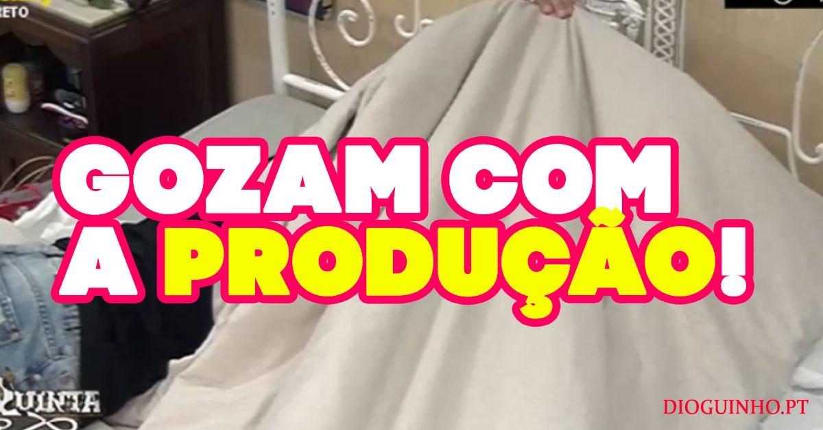 Photo of Quinaz e Romana gozam com a produção à cara PODRE!