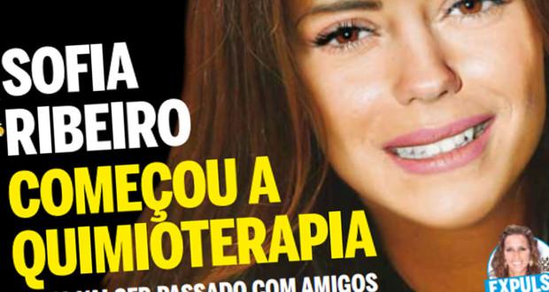 Sofia Ribeiro já terá começado os tratamentos de Quimioterapia