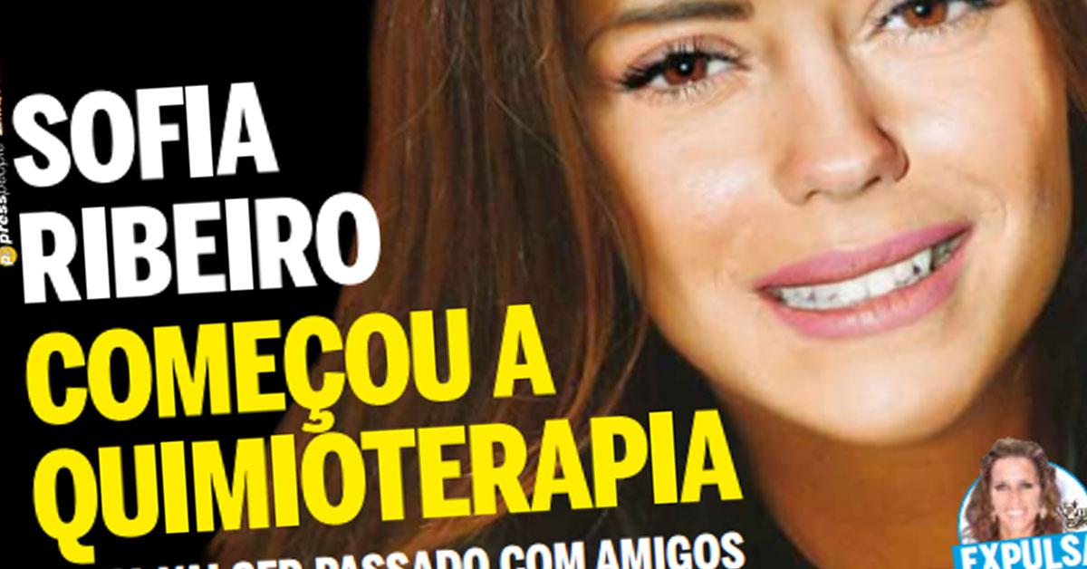 Photo of Sofia Ribeiro já começou tratamentos de Quimioterapia