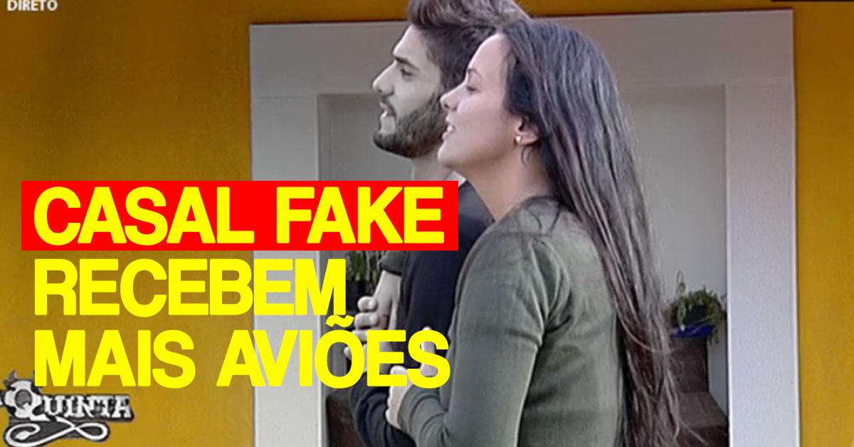 Photo of Fãs malucos da Sofia Sousa enviam mais aviões ao casal fake