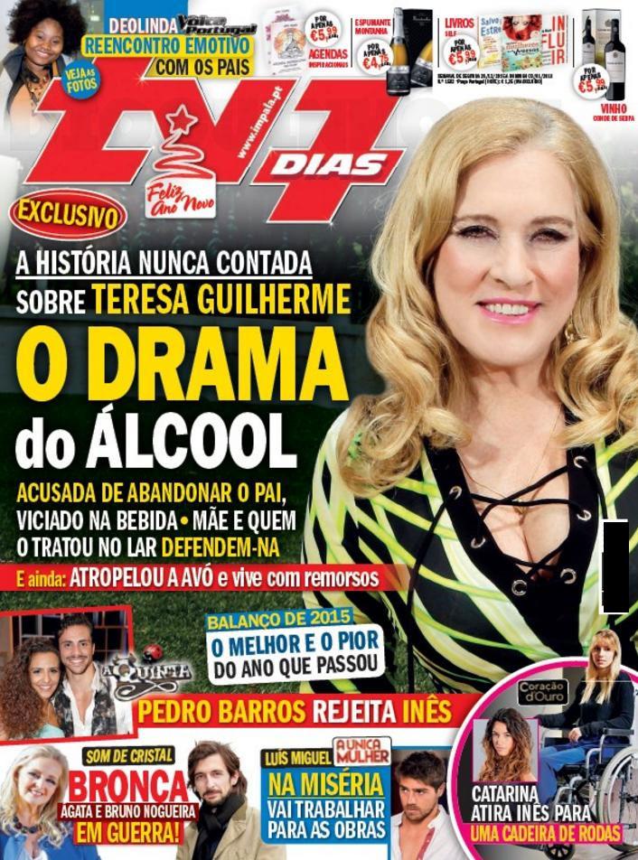 Teresa Guilherme abandonou o pai