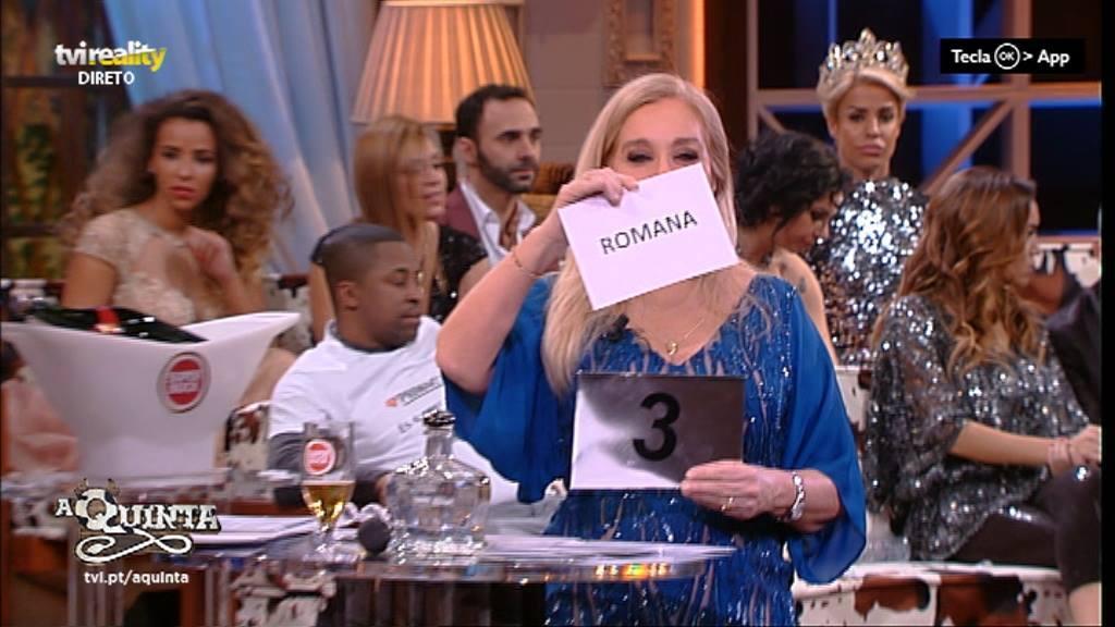 Photo of Romana é a terceira classificada em A Quinta