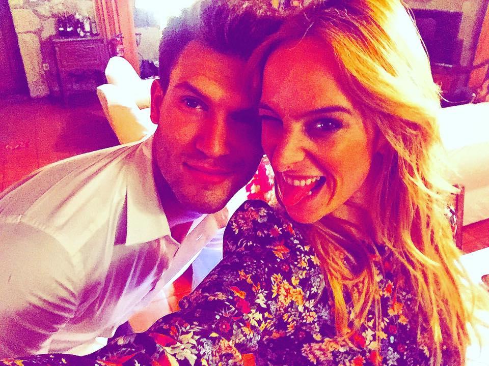 Sara Prata namora com Ricardo Oliveira