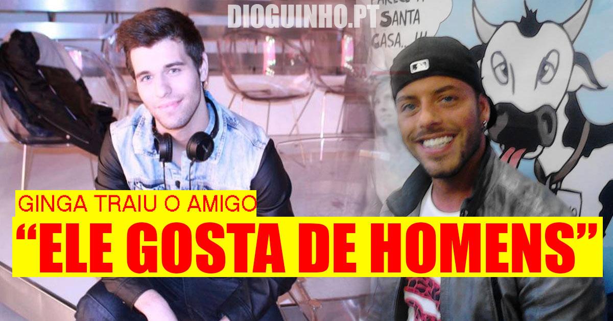 """Photo of Tiago Ginga espalhou boato """"ele gosta de homens"""""""