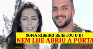 Ruben da Cruz diz que não merecia ser ignorado por Sofia Ribeiro