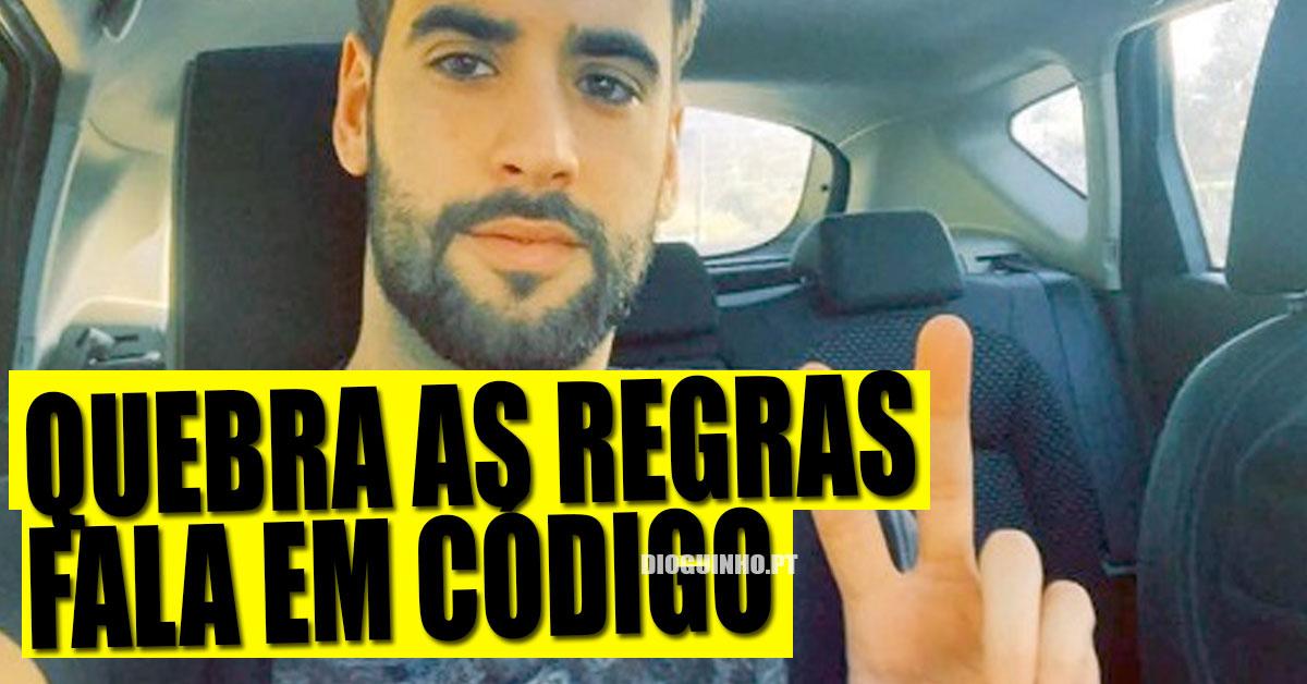 Photo of Diogo Marcelino arma-se em esperto com a VOZ e fala em código