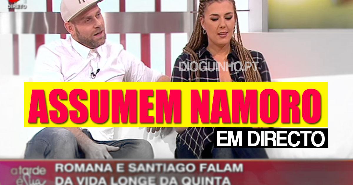 Photo of Romana e Santiago assumem namoro no «A Tarde É Sua»