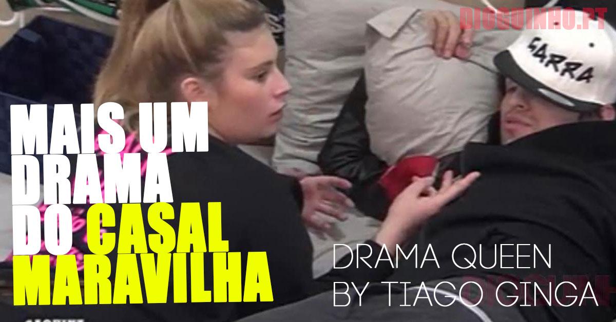 """Photo of Tiago Ginga e Bibi em mais um filme do """"não me amas, é tudo jogo"""""""