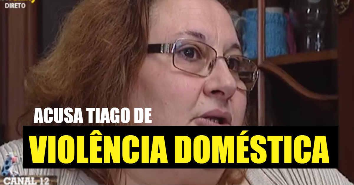 Photo of Rosa Branca ACUSA Tiago Ginga de Violência Doméstica e muito mais