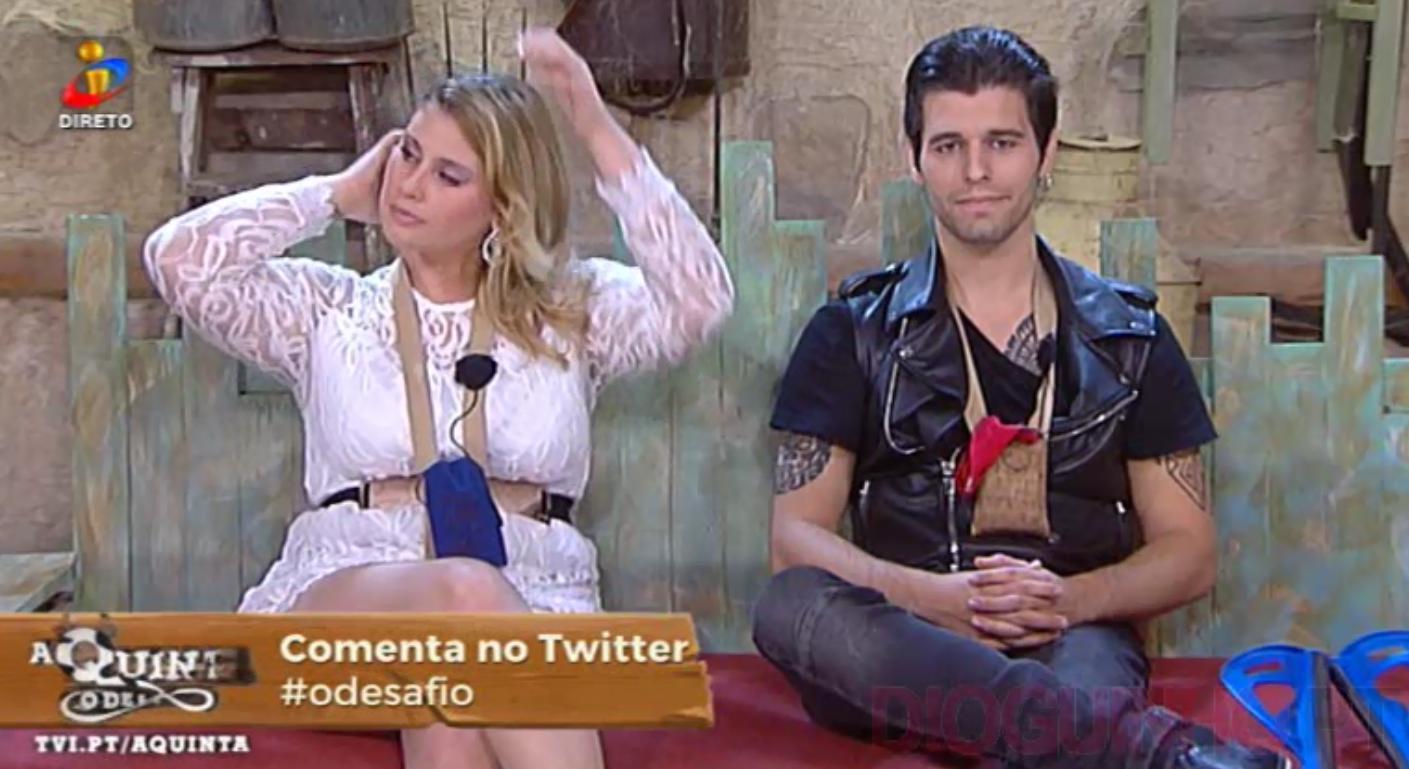 Photo of Tiago Ginga e Bernardina: produção quer juntar o antigo casal