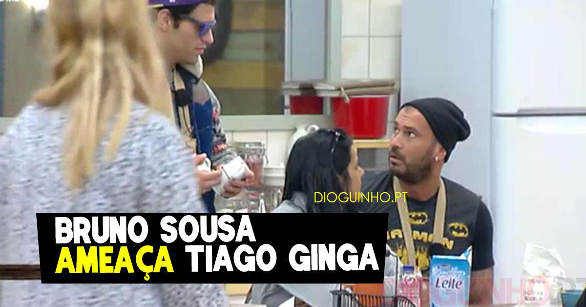 Photo of Bruno Sousa ameaça Tiago Ginga e atira-lhe óculos para o chão