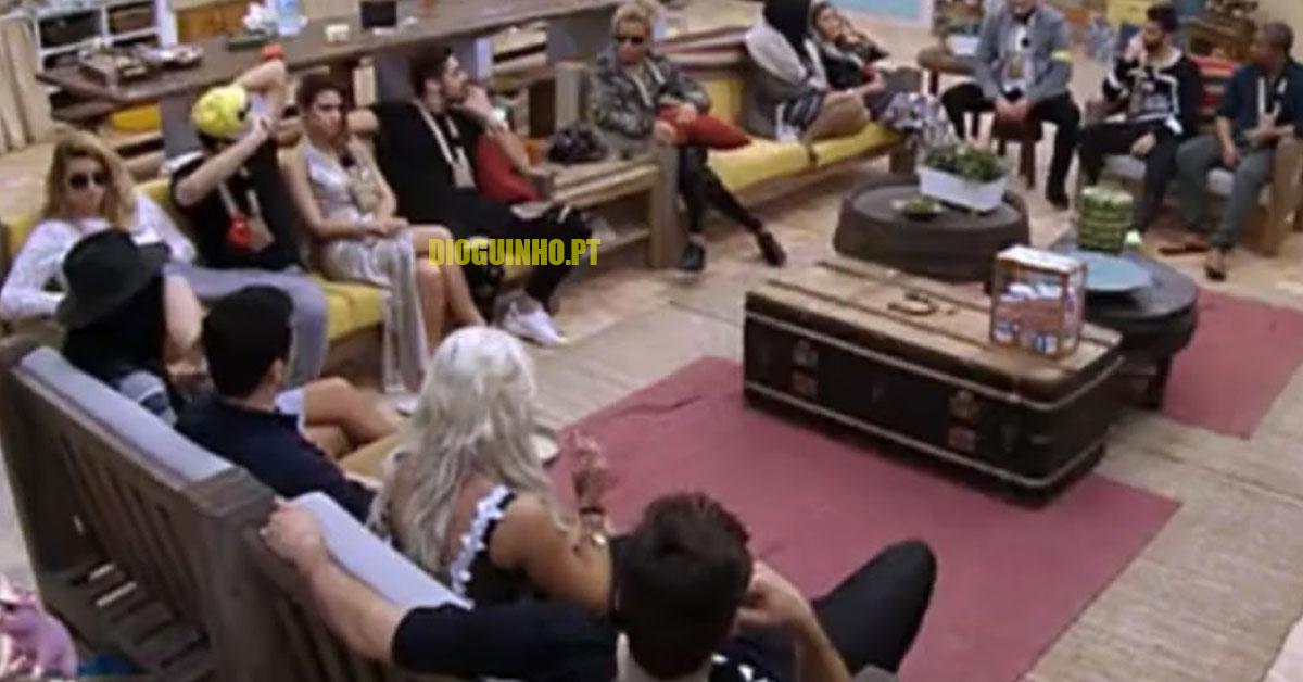 Photo of Cadeira Quente fraca, mas teve Luís e Érica a dar faísca