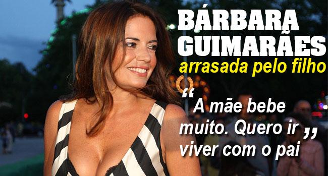 Bárbara Guimarães arrasada em tribunal