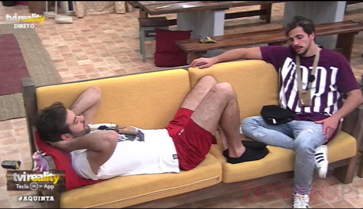 Photo of Pedro B e Marcelino falam em código da Jessica, da saída no domingo e outros