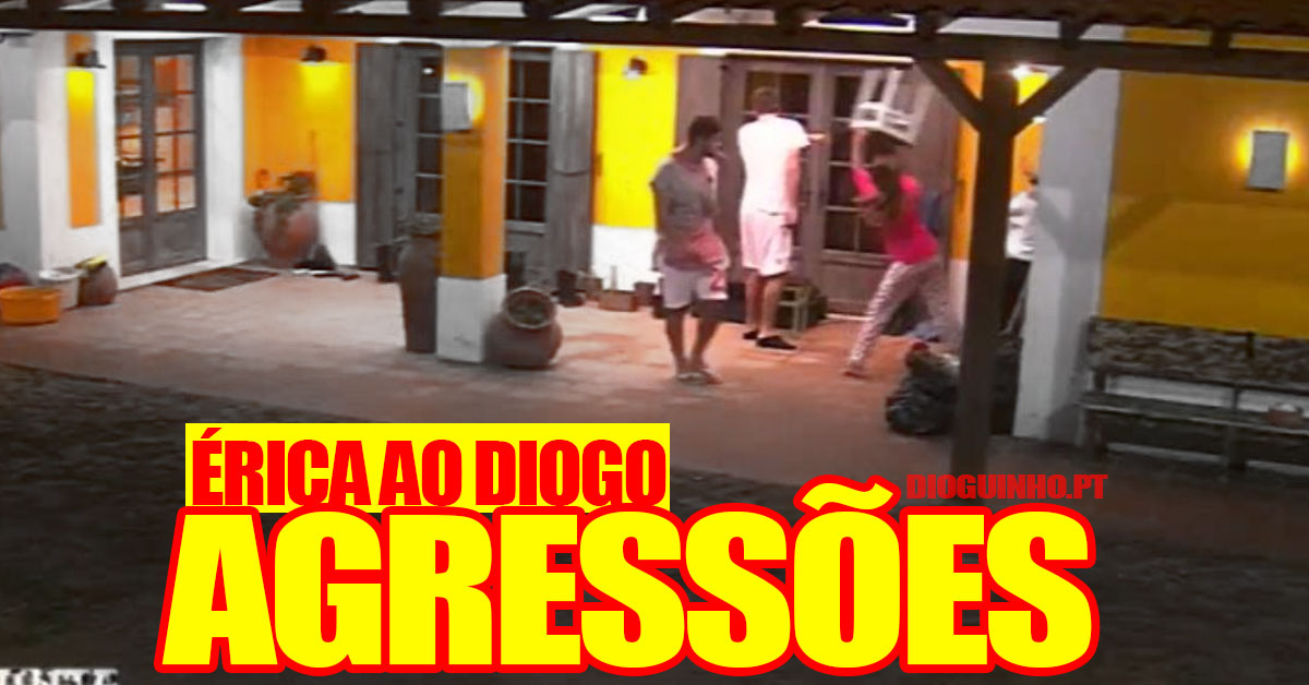 Photo of TVI mostra imagens das AGRESSÕES de Érica Silva