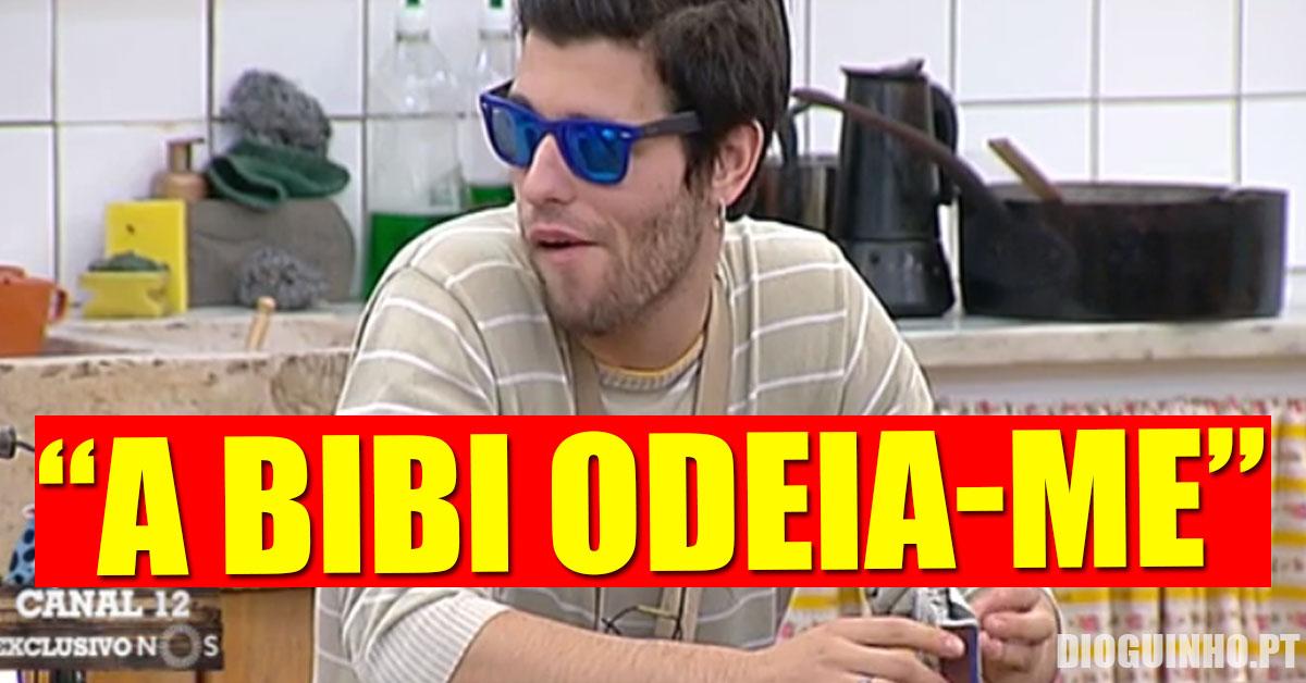 """Photo of Tiago Ginga garante """"ela odeia-me"""", e manda farpas para a familia da Bibi"""