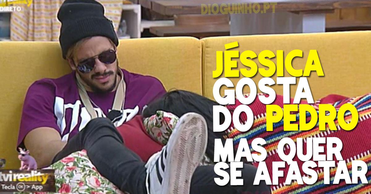Photo of Jéssica gosta do Pedro, mas quer-se afastar