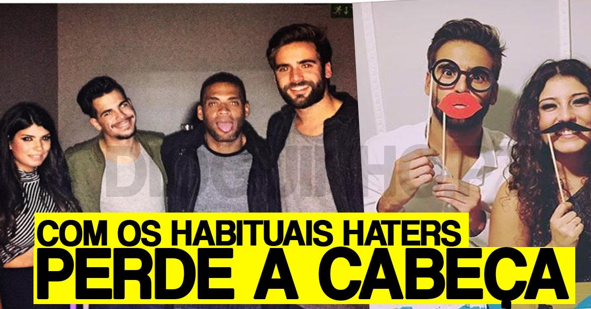 Photo of Diogo Marcelino perde a cabeça com um hater e anda sempre com as 'ex-namoradas'