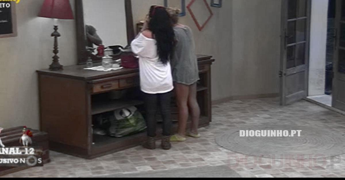 Photo of Carlos e Jéssica Maria usam produtos da Elisabete Moutinho antes de os entregar