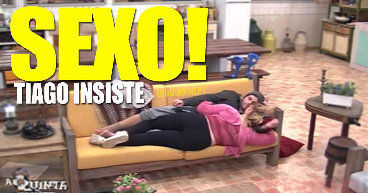 Photo of Tiago Ginga insiste com Bibi para se enrolarem na «casa»