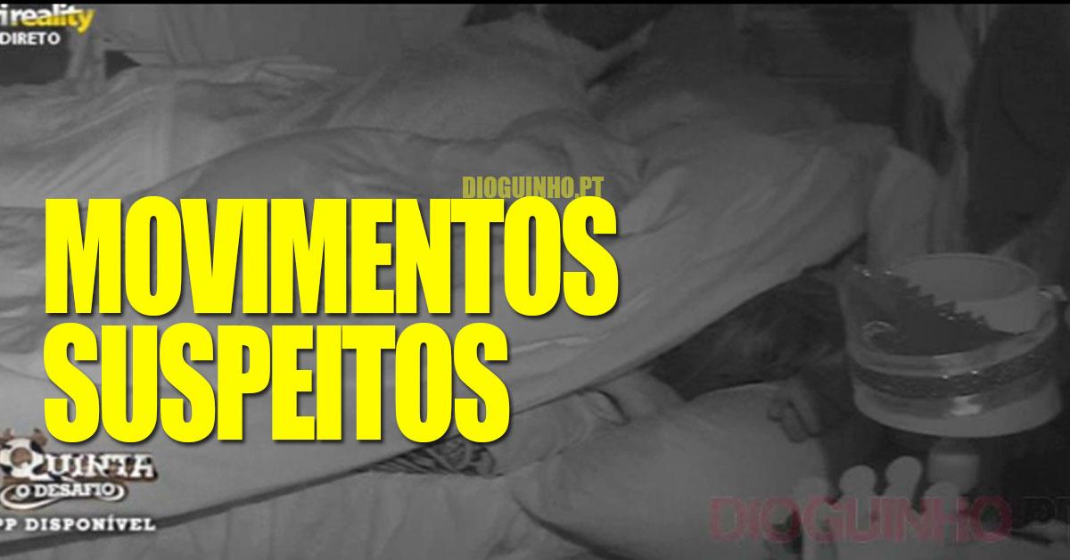 Photo of Bernardina e Tiago JUNTOS na cama esta noite… com movimentos suspeitos