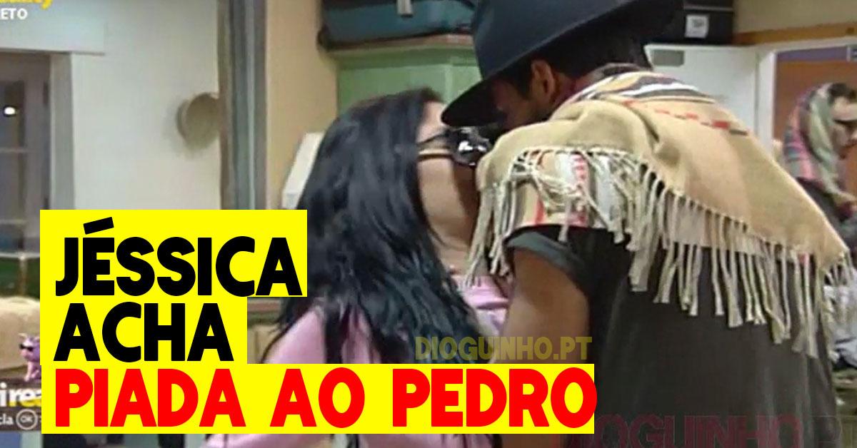 Photo of Jéssica Maria fala do Pedro Pistoleiro… e acha-lhe piada!
