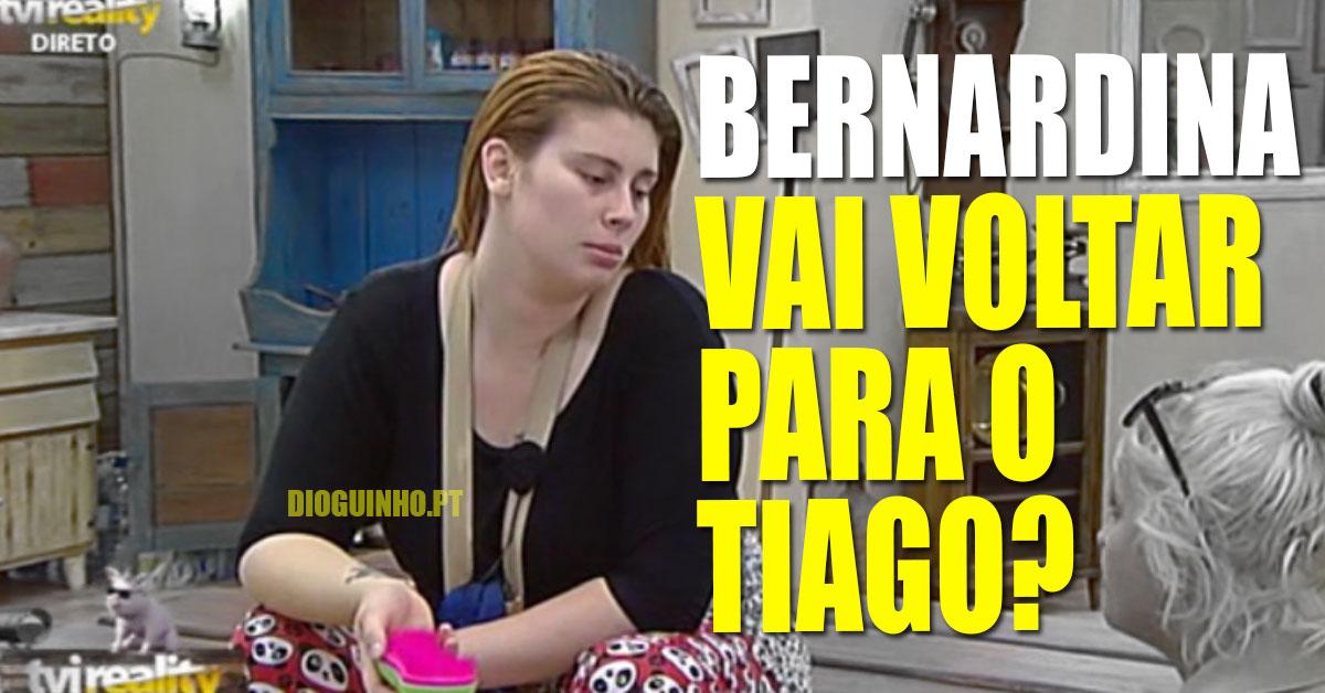 Photo of Bernardina Brito vai voltar para o Tiago Ginga? Ela explica…