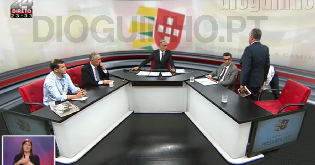 Photo of Cândido Ferreira abandona debate em direto na TVI24