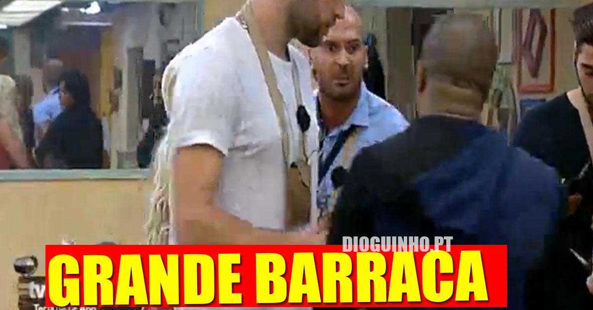Photo of Bruno e Larama quase acaba agressões em directo durante as nomeações