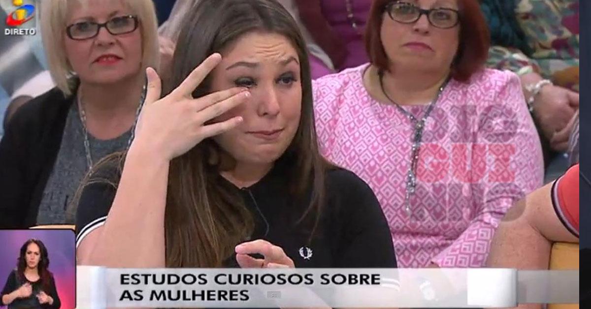 Photo of Joana Machado Madeira chora no Você na TV devido aos haters