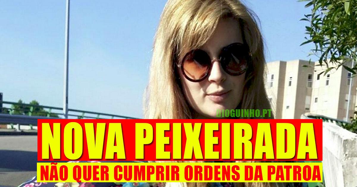 Photo of Bernardina Brito não quer cumprir ordens da patroa.. aos berros!