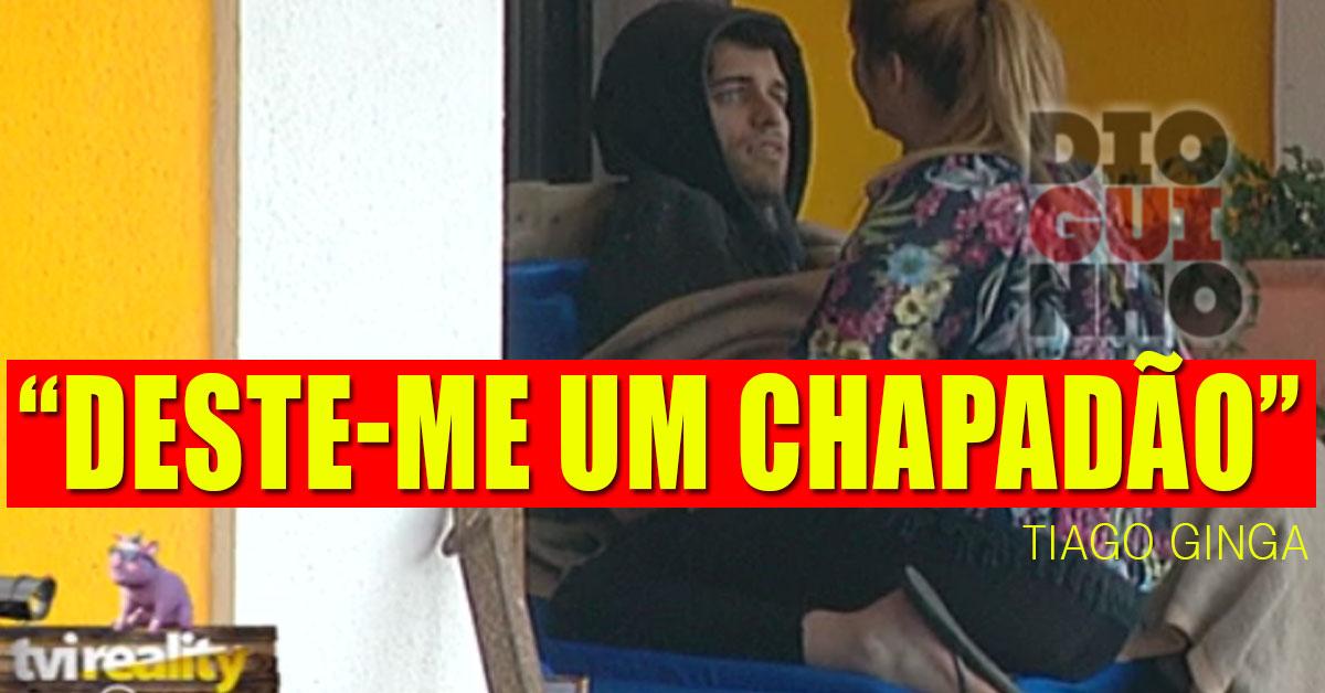 Photo of Bernardina Brito e Tiago em nova discussão. Ele diz que ela lhe deu um estalo