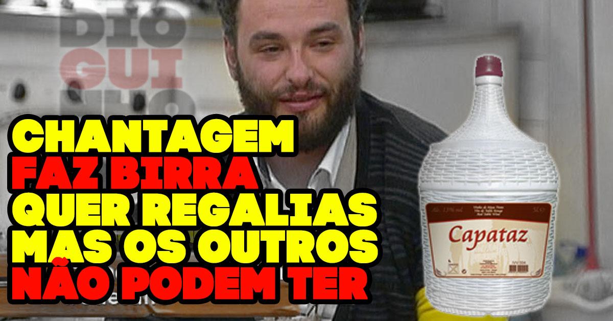 Photo of António faz chantagem, birra e não quer que outros tenham regalias (só ele)