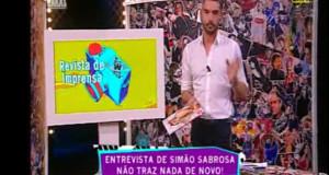 Cláudio Ramos arrasa revista Cristina