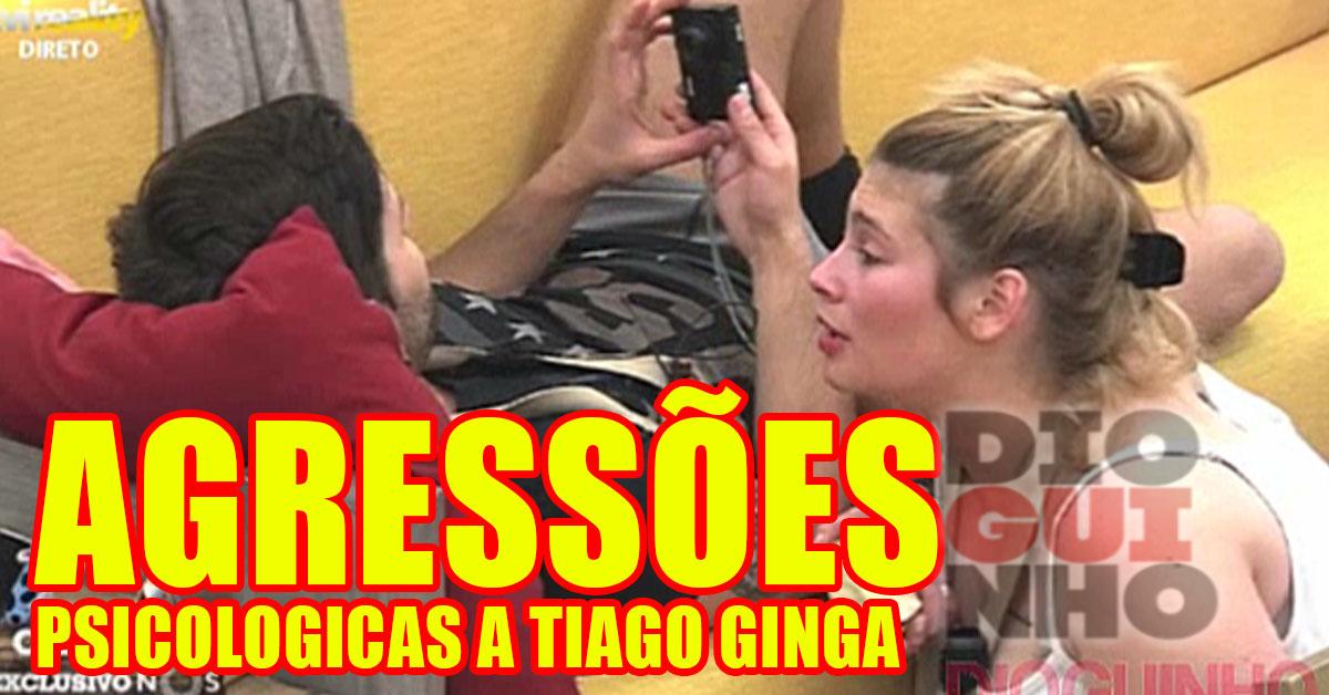 Photo of Bernardina Brito continua a agredir psicologicamente o Tiago Ginga