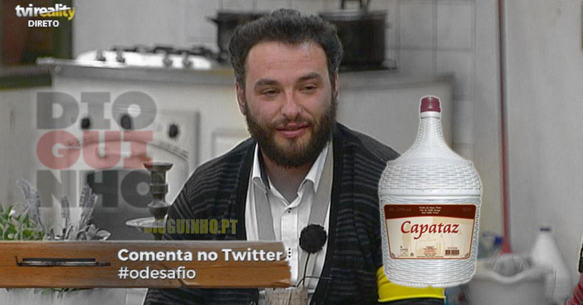 Photo of António com 5 meses já bebia vinho… está explicado