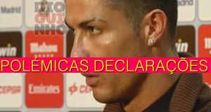 Declarações de Cristiano Ronaldo estão a motivar polémica