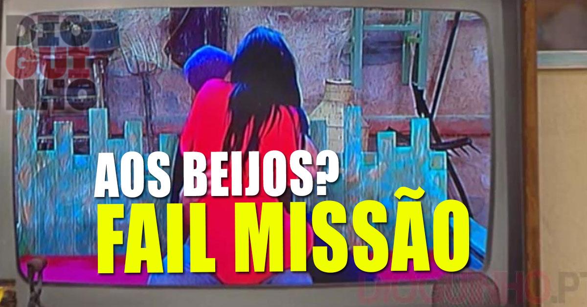 Photo of Jéssica e Diogo aos beijos na boca? FAIL de missão!