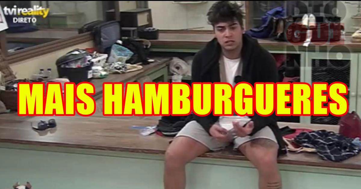 Photo of Amigos do Daniel mandam mais hambúrgueres para a Quinta